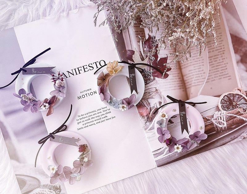 婚禮小物-花圈香氛蠟片