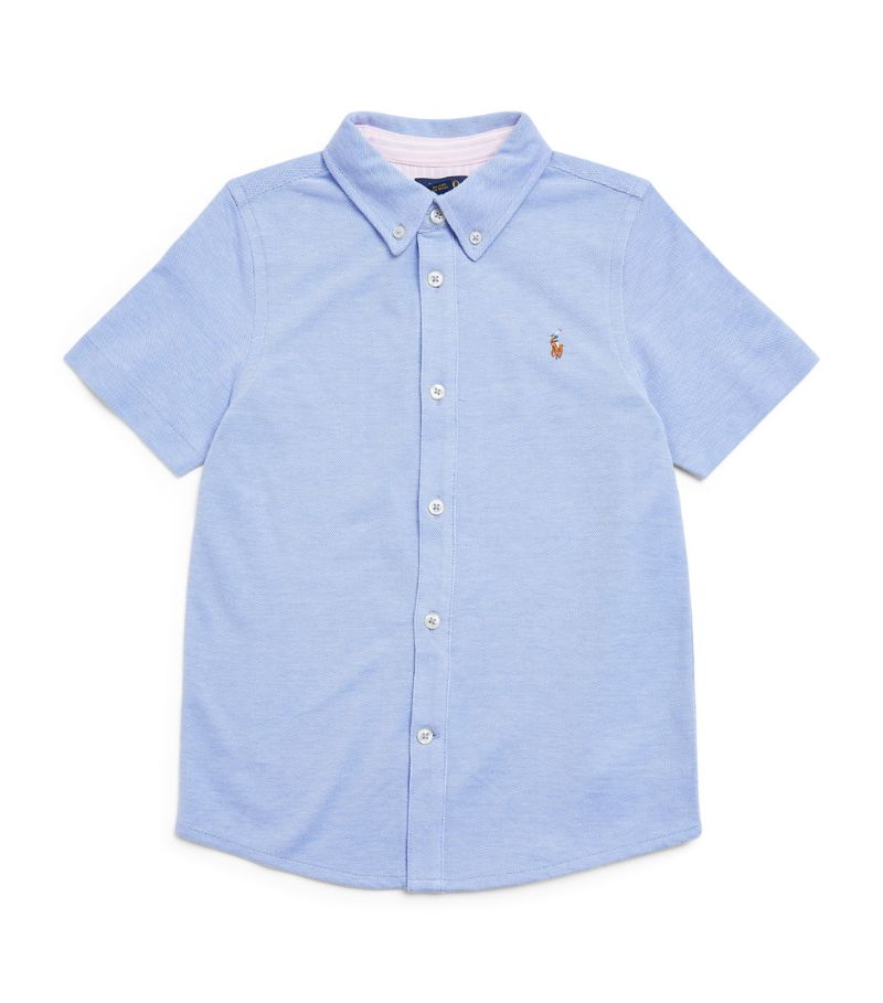 Ralph Lauren Kids Short-Sleeved Shirt (6-14 Years)