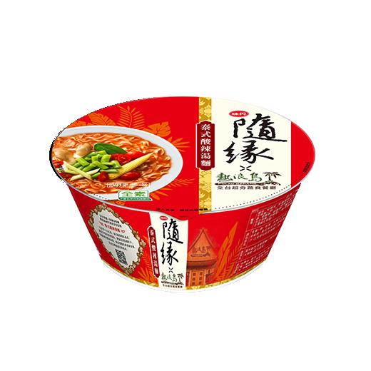 味丹隨緣泰式酸辣湯麵碗麵98g
