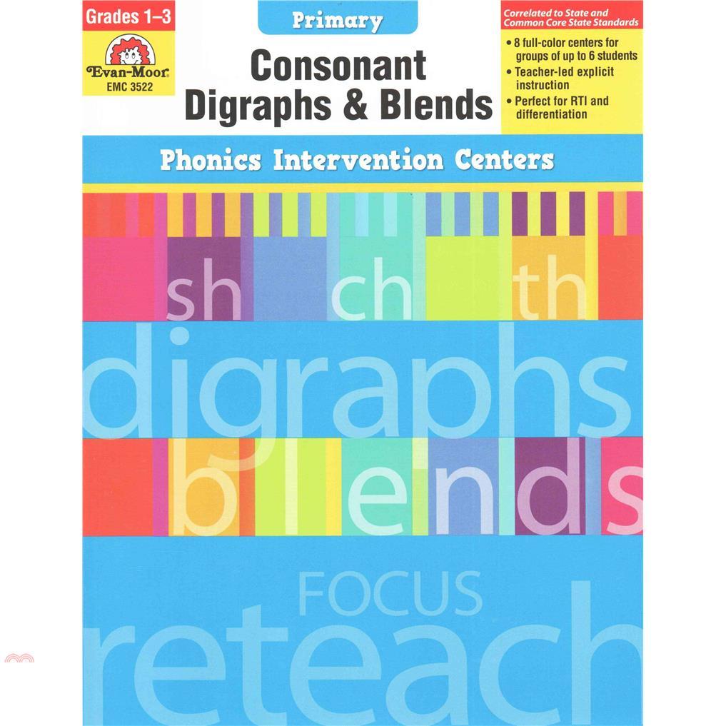 Phonics Intervention Centers Grades 1-3 - Consonant【三民網路書店】