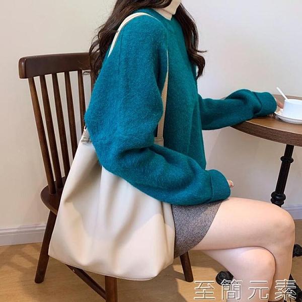 大包女年新款包包韓版ulzzang女包單肩包大容量休閒托特包 至簡元素