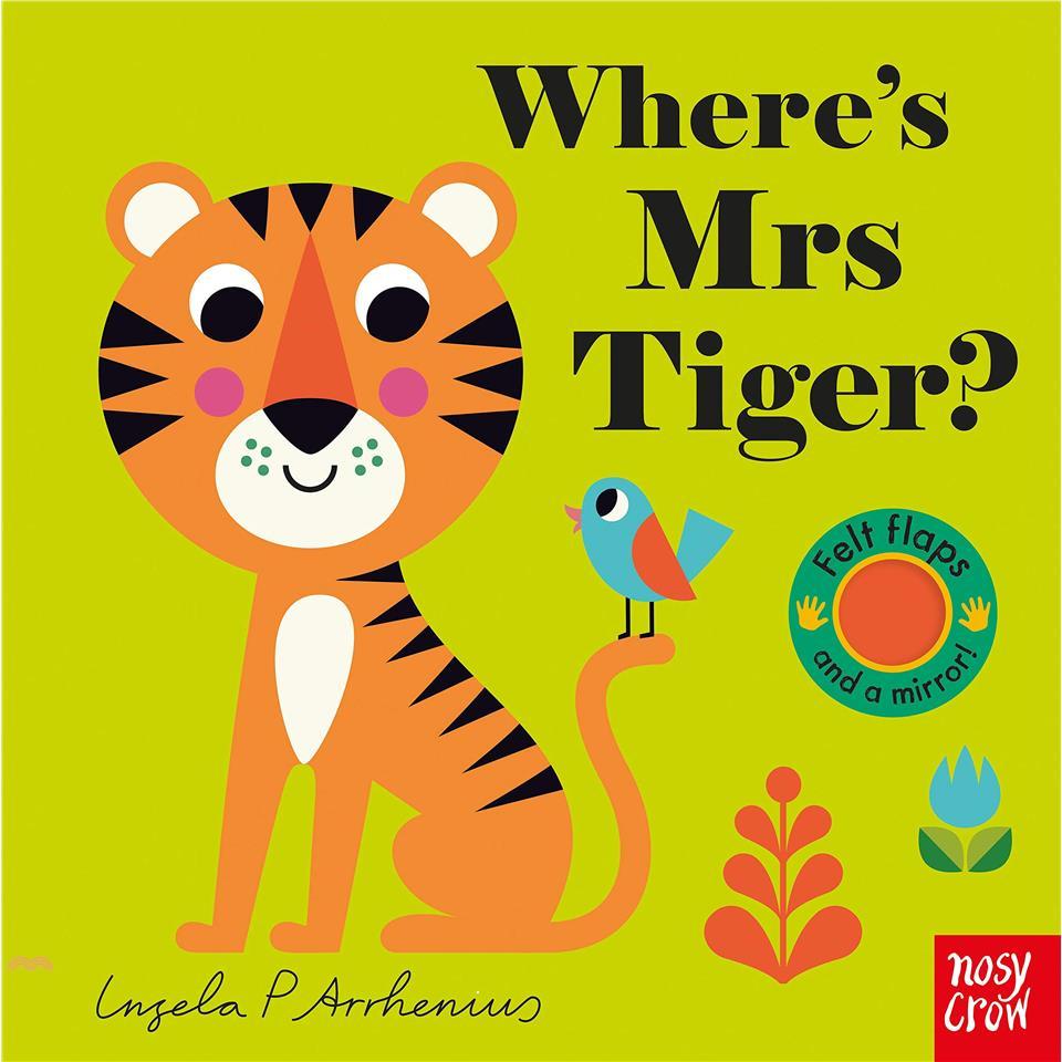 Where's Mrs Tiger? (Felt Flaps)【三民網路書店】(硬頁書)[69折]