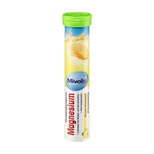 德國dm Mivolis礦物鎂發泡錠(檸檬風味)20錠入