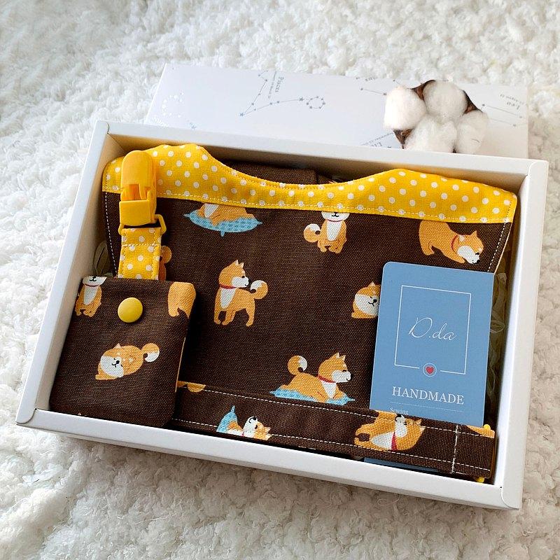 柴柴散步 寶貝彌月禮盒 韓國布料