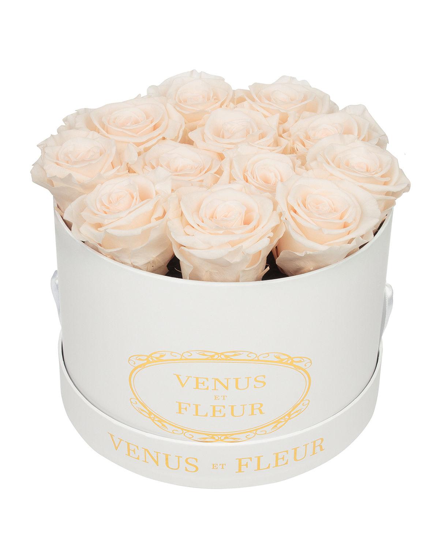 Classic Small Round Rose Box
