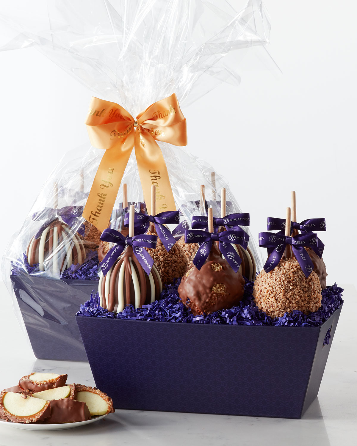 Thank You Petite Caramel Apple Gift Tray