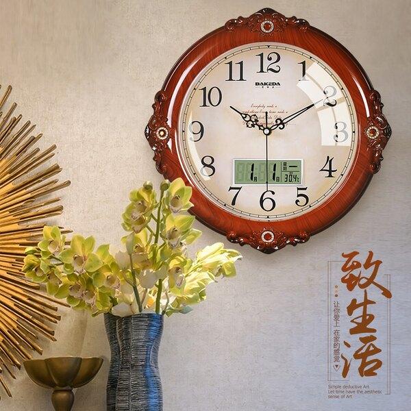 客廳靜音掛鍾家用創意時鍾時尚個性鍾表歐式掛表臥室石英鍾