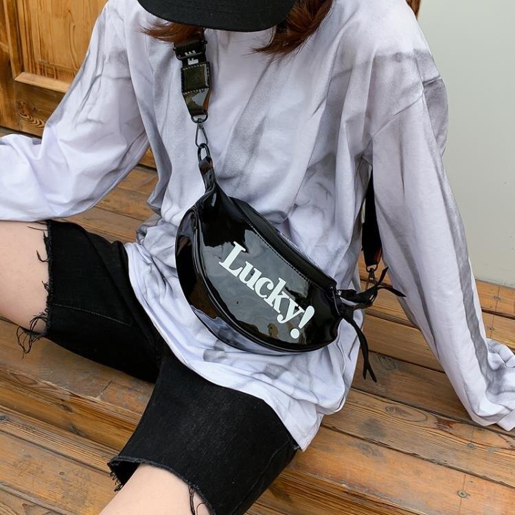 街頭潮酷蹦迪包小包包女包2020新款潮韓版百搭胸包嘻哈時尚斜挎包