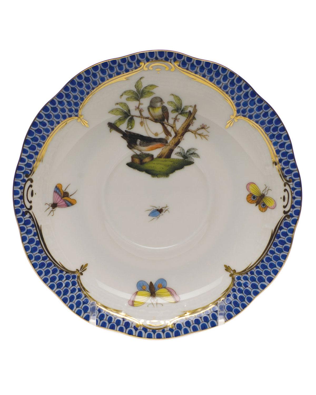 Rothschild Blue Motif 02 Tea Saucer