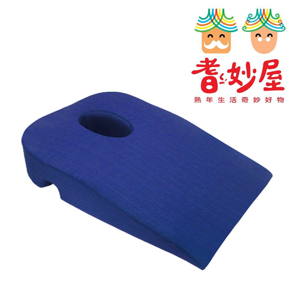 【耆妙屋】居家按摩舒壓枕(附收納袋+3D空氣針織布保潔墊)