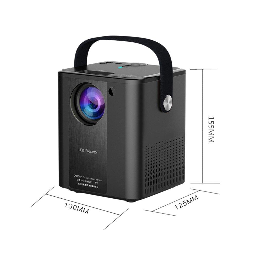 C500智慧投影儀無線安卓便攜移動高清投影機戶外