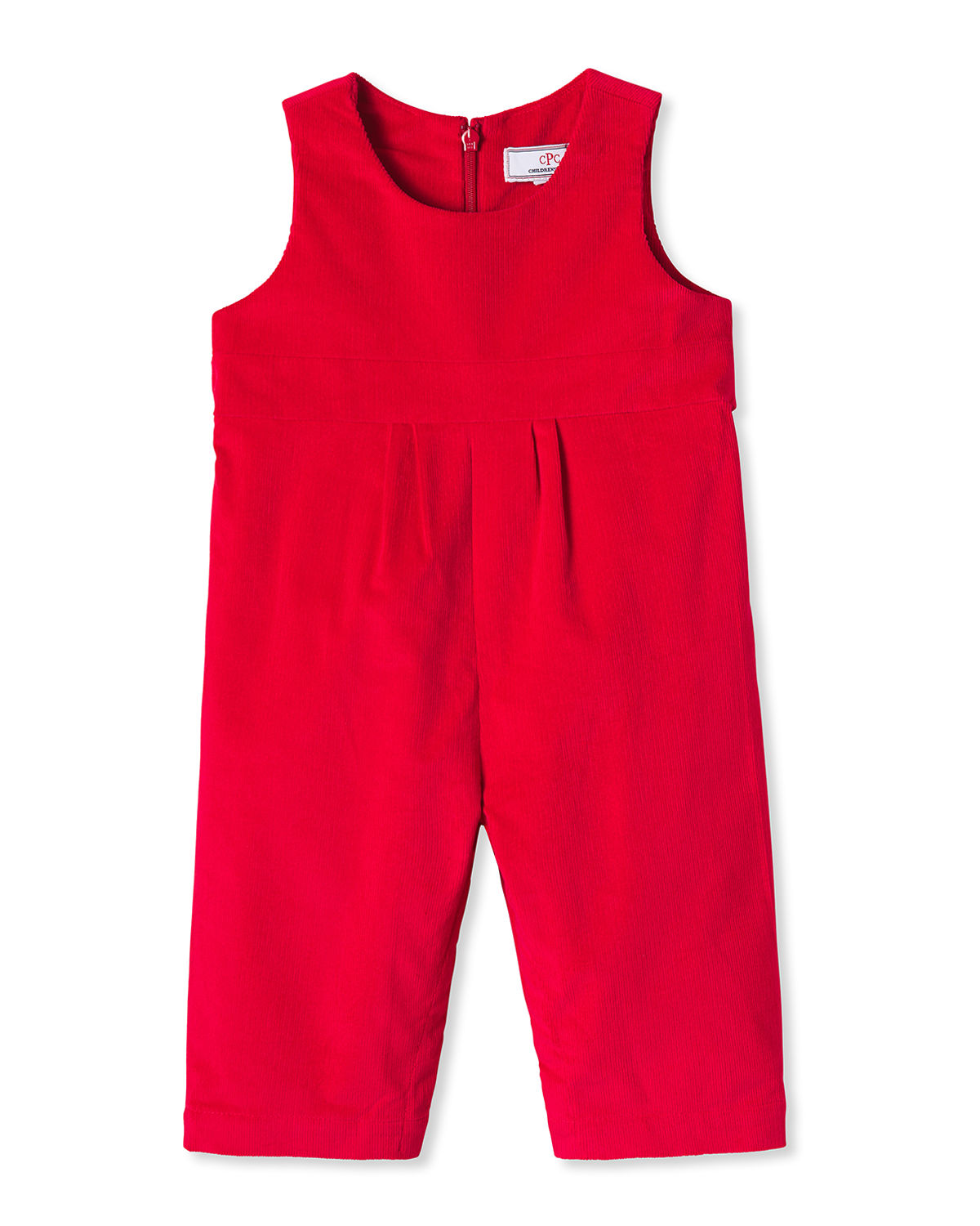 Girl's Tabor Corduroy Overalls, Size 3 Months-3