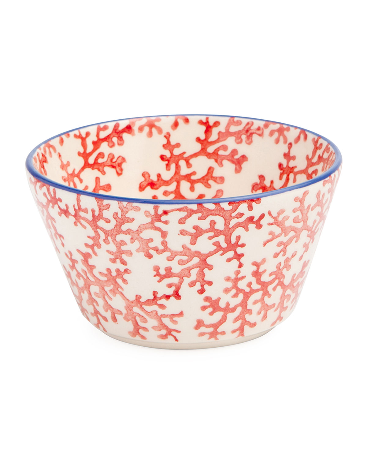 Sienna Coral Cereal/Ice Cream Bowls, Set of 4