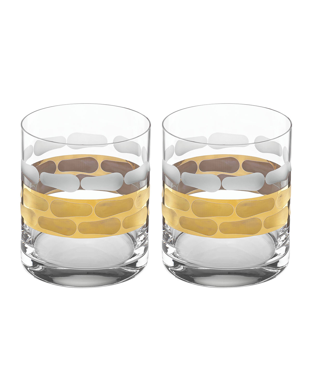 Truro Double Old Fashioned Glasses, Set of 2