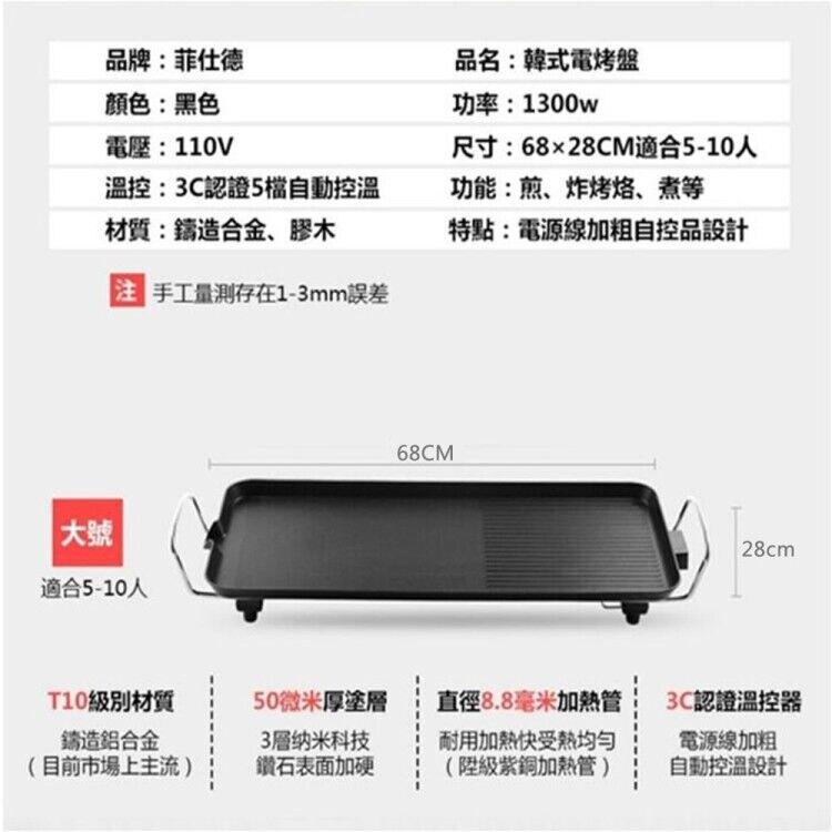 【台灣現貨】台灣110V 現貨烤盤家用無煙烤肉機電烤盤涮烤韓式多功能室