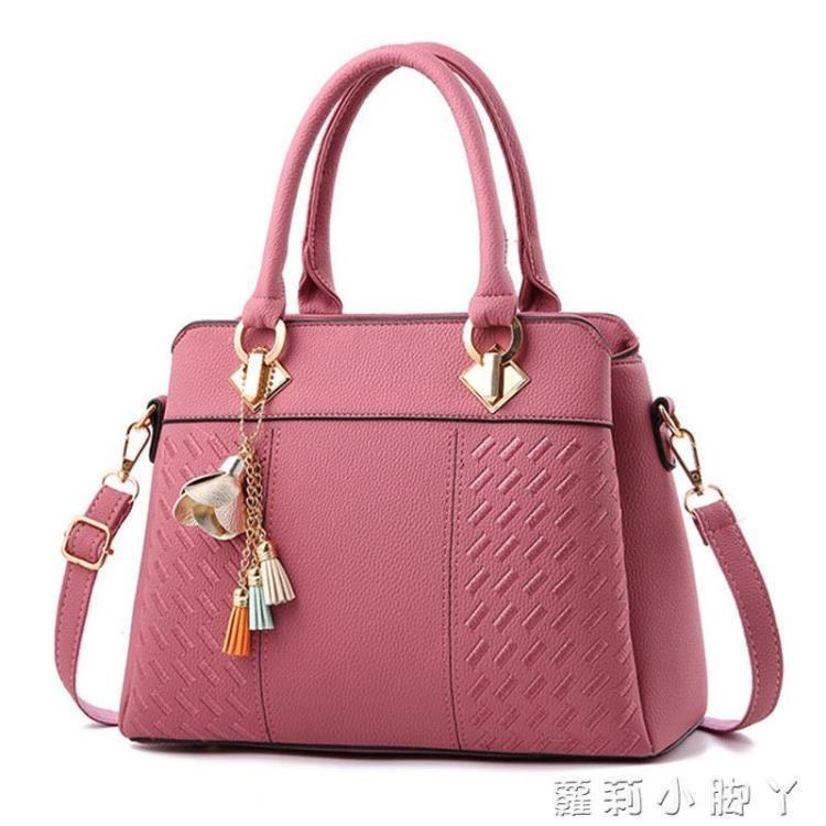 女士包包2021春季新款大容量媽媽包手提包韓版單肩斜挎包中年女包