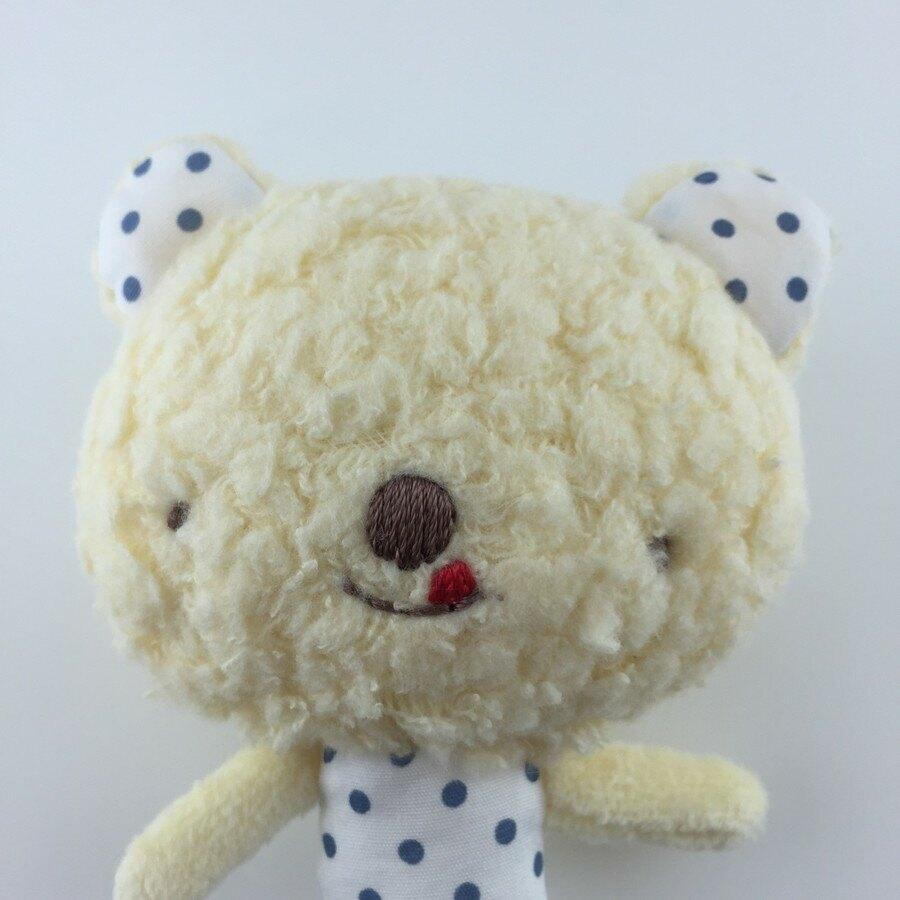 【日本製】【anano cafe】日本製 嬰幼兒寶寶安撫玩偶 小熊 - 日本製