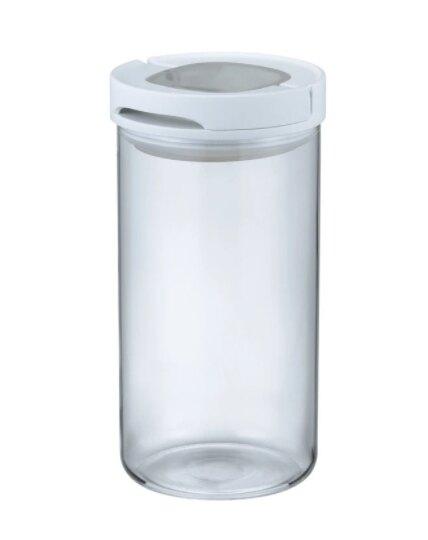 金時代書香咖啡 HARIO L 白色密封保鮮罐 300g MCNJ-300-W