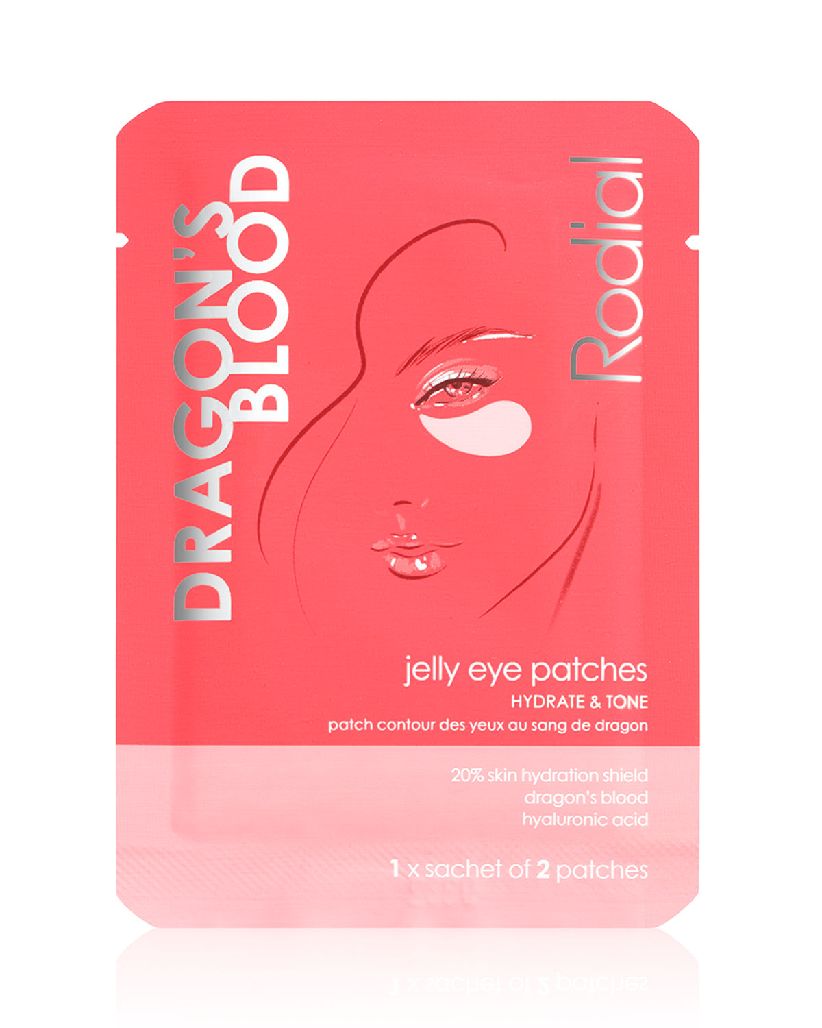 Jelly Eye Patches, Single Sachet