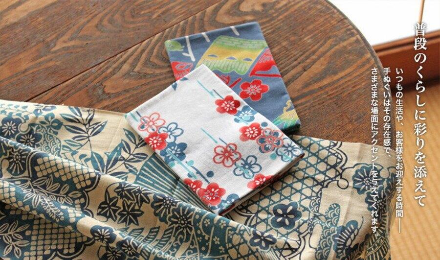 【日本製】【和布華】 日本製 注染拭手巾 肚子餓松鼠圖案 - 和布華