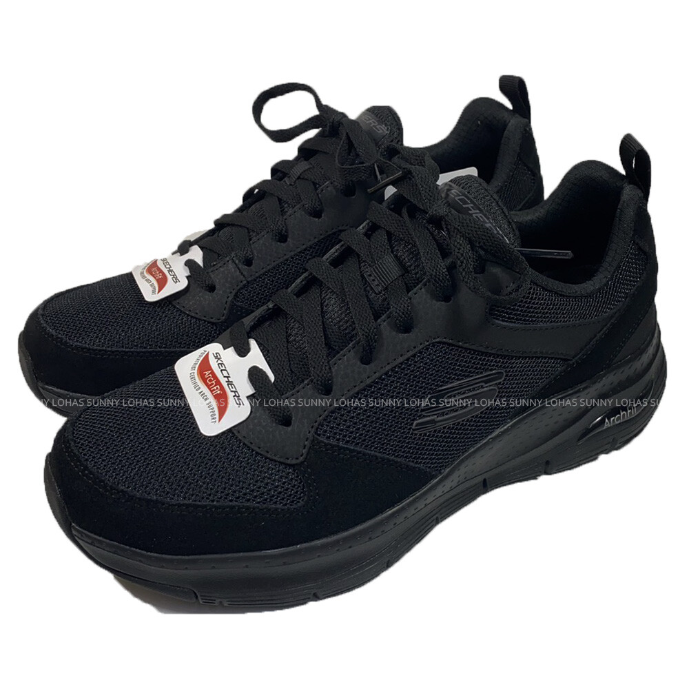 (c3) skechers 男鞋 arch fit 健走鞋 工作鞋 足底筋膜炎舒緩232101bbk