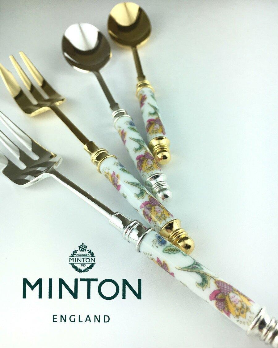 【日本製】【MINTON】日本製 哈頓廳系列 蛋糕叉子 2入 銀色 - 日本製