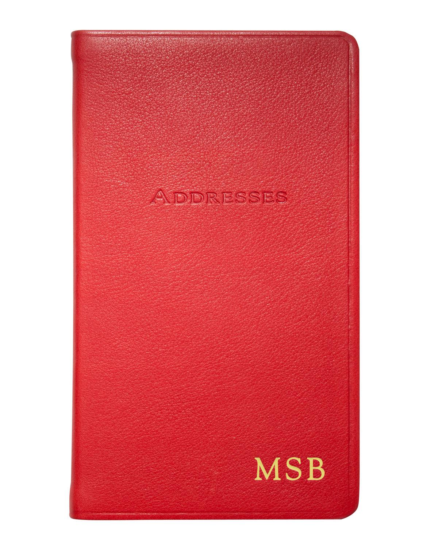 "5"" Pocket Address Book"
