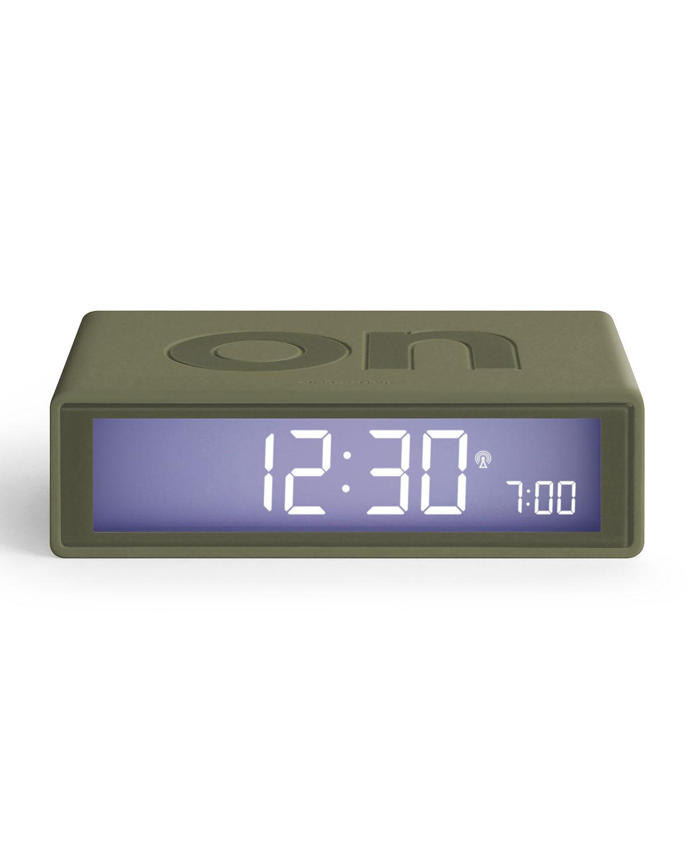 Flip+ Reversible LCD Alarm Clock