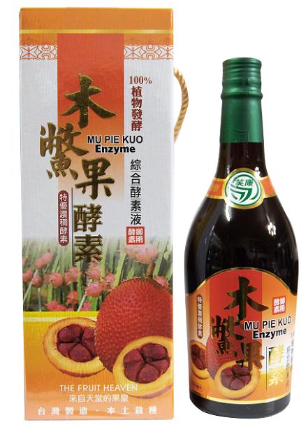 木鱉果綜合蔬果酵素 600ml/瓶