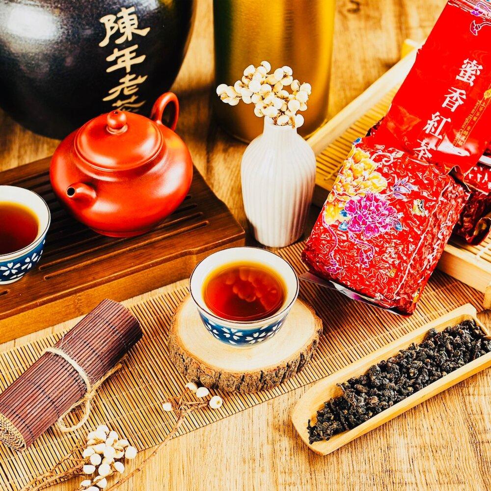 【雪山茶行】蜜香紅茶 紅玉 紅韻 自產自銷 坪林茶 比賽茶 生茶 高山茶 蜜香 冷泡茶