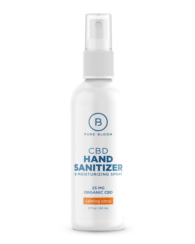 2 oz. CBD Hand Sanitizer and Moisturizing Spray