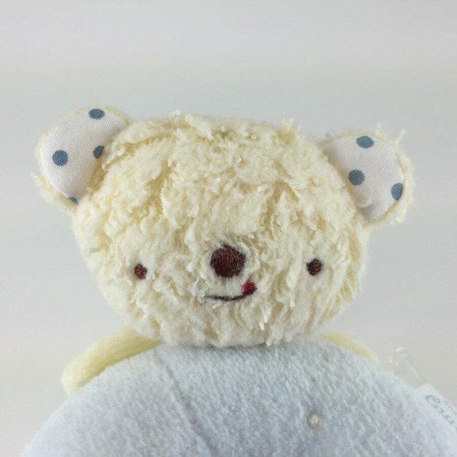 【日本製】【anano cafe】日本製 嬰幼兒手搖鈴玩偶 小熊 - 日本製