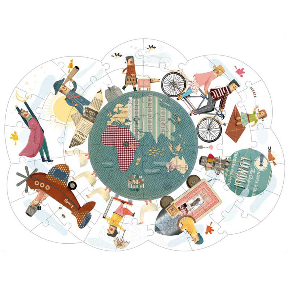西班牙Londji 環遊世界拼圖