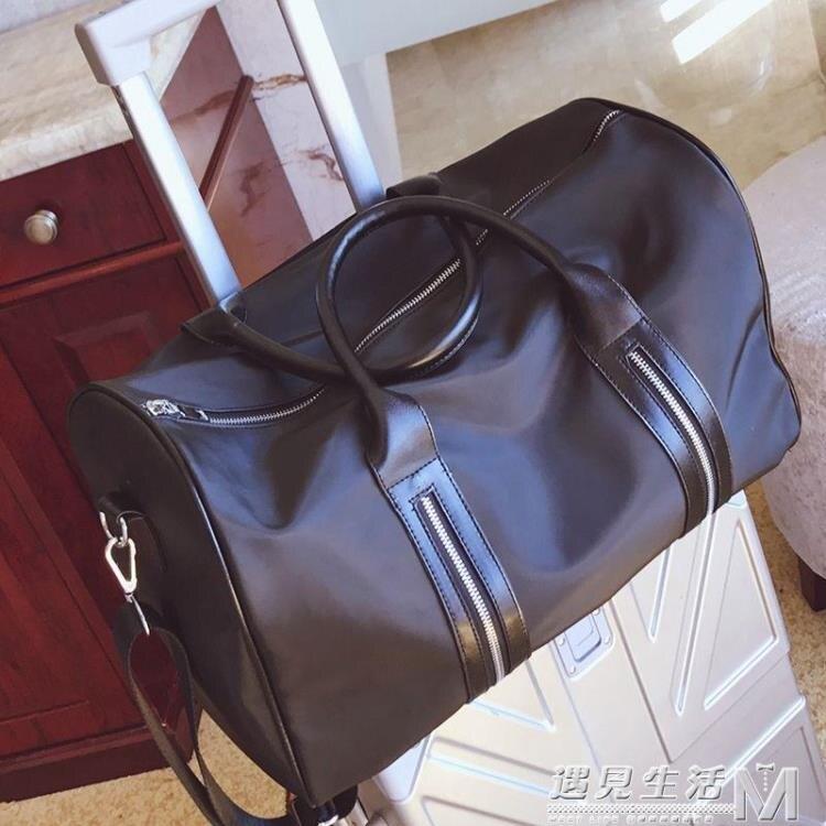 新款手提行李包女長短途旅行包防水健身包登機包男士行李袋大包包