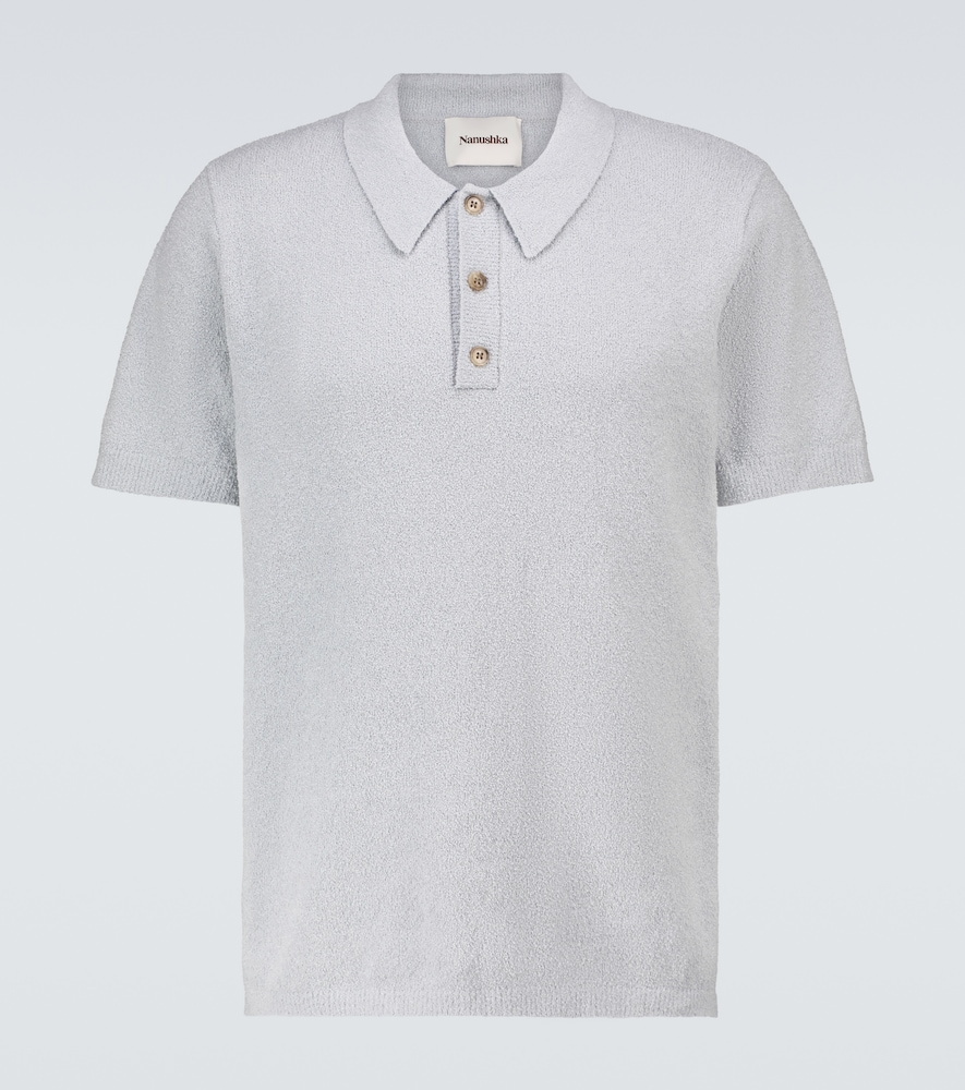 Marus knitted short-sleeved polo