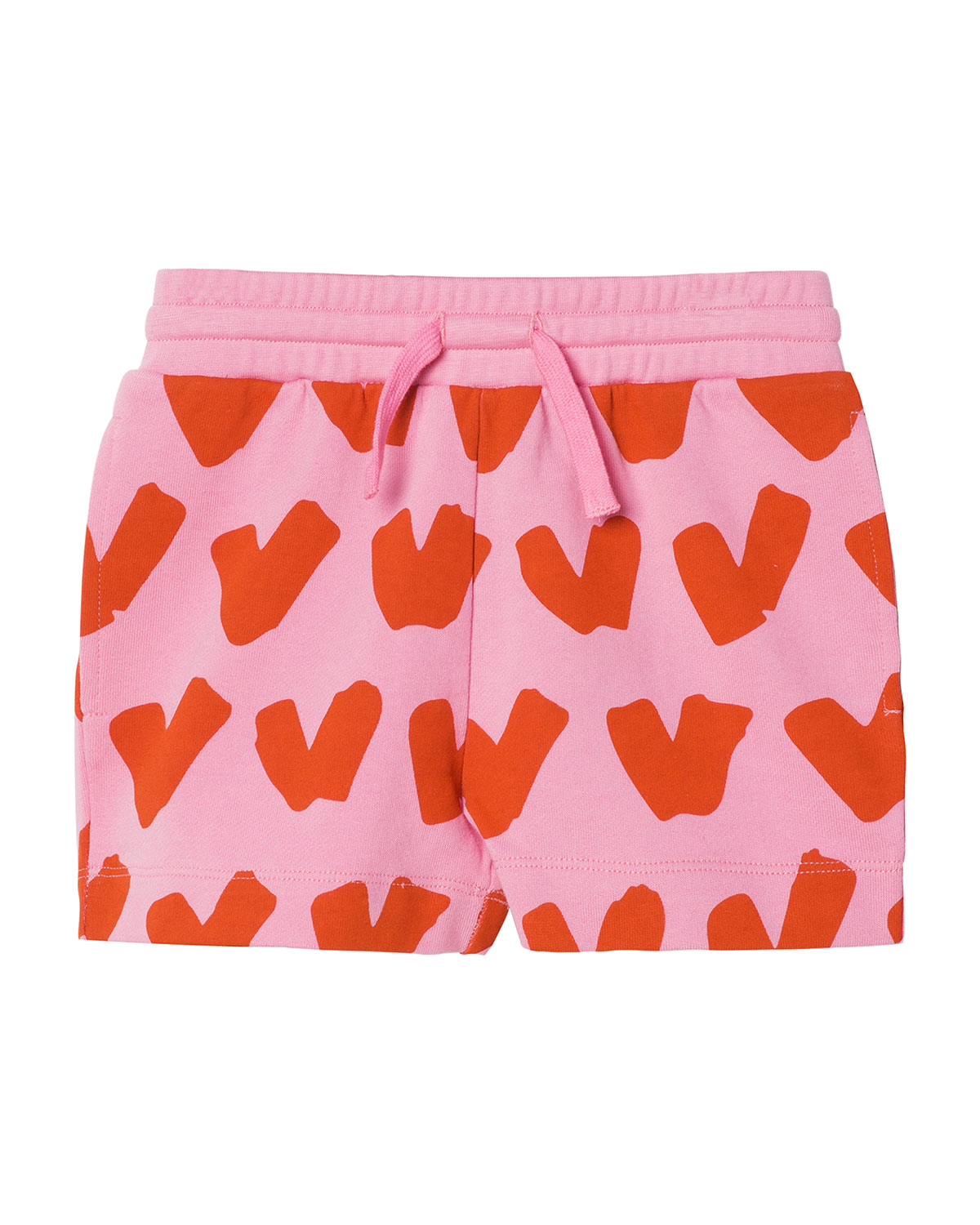 Kid Girl Hearts Sweatshorts