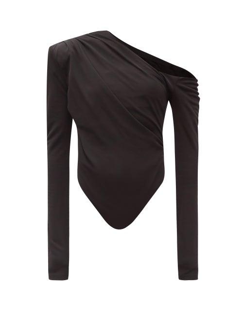 Gauge81 - Sandovo Jersey Bodysuit - Womens - Black
