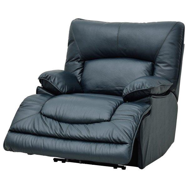 ◎半皮1人用電動可躺式沙發 HIT NV NITORI宜得利家居