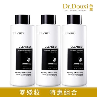 【Dr.Douxi朵璽】 極淨保濕魔幻水 蝸牛限定版 500ml 3瓶入(團購組)