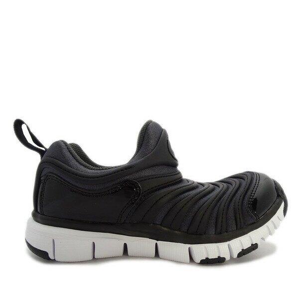 Nike Running Nike Dynamo Free (ps) [343738-013] 中童 慢跑鞋 運動 休閒 輕量 支撐 緩衝 彈力 黑 白