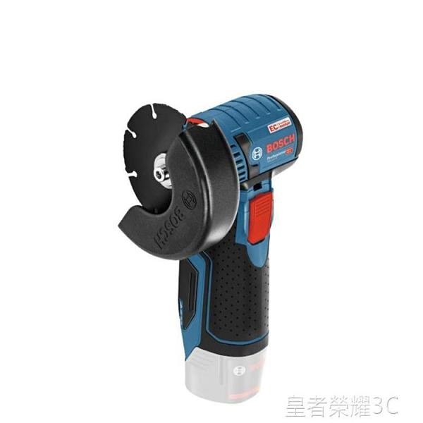 鋰電池切割機 博世小鋼俠金屬木材水電塑料管瓷磚小型鋰電切割角磨機GWS 12v-76YTL