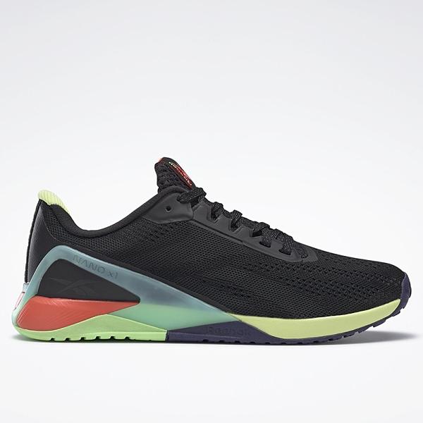 REEBOK NANO X1 女鞋 訓練 慢跑 休閒 EVA中底 緩衝 耐磨 黑【運動世界】FX3247