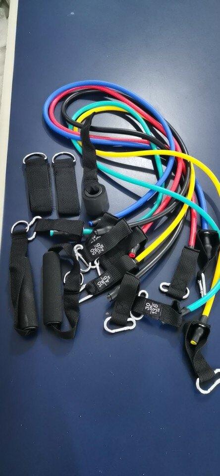 拉力器11件套,電商乳膠 TPE拉力器