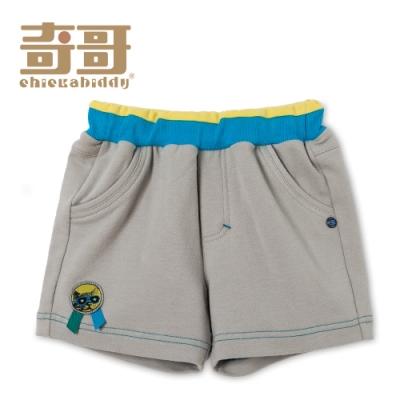 奇哥 夏日假期短褲-灰卡 (1-3歲)