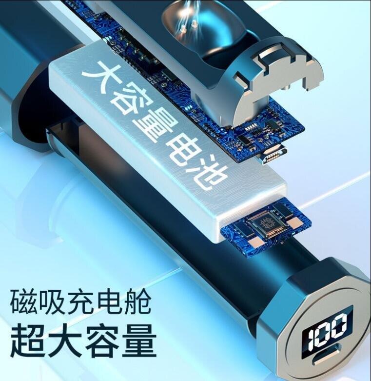 【新北現貨】 藍芽耳機 TWS無線藍芽耳機HiFi抽拉式5.0觸控入耳式數顯藍芽耳機F9 快速出貨 【母親節禮物】