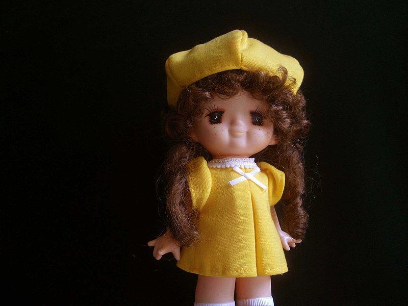 【老時光 OLD-TIME】早期日本製玩偶娃娃