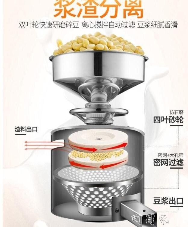樂創豆漿機商用早餐店豆腐腦機家用石磨機電動全自動小型現磨漿機