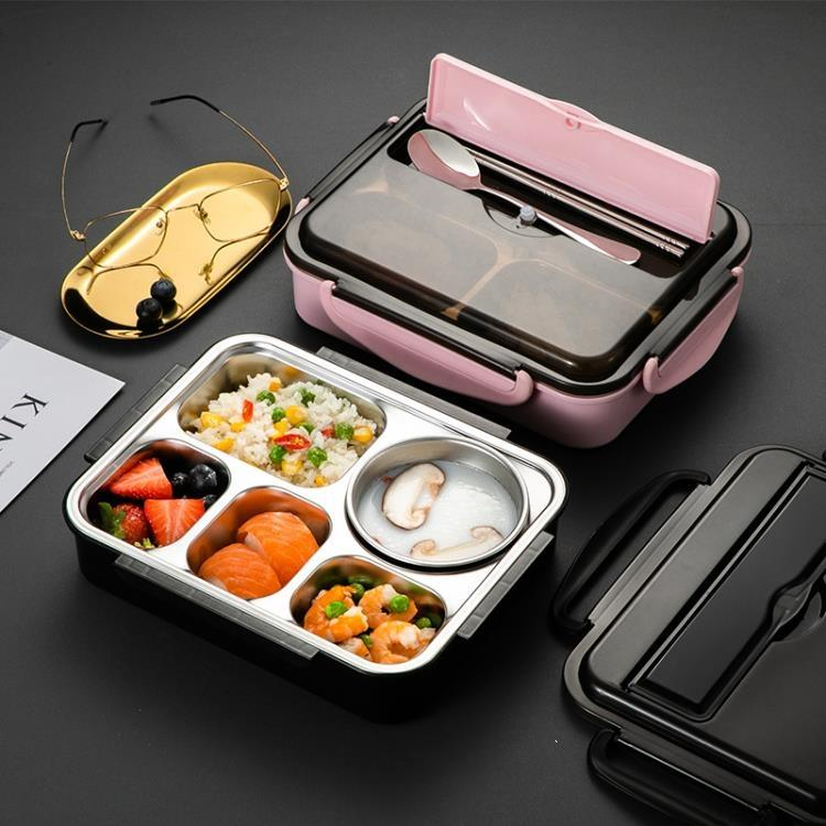 304不銹鋼食品級 保溫飯盒中學生上班族少女心可微波爐加熱便當盒
