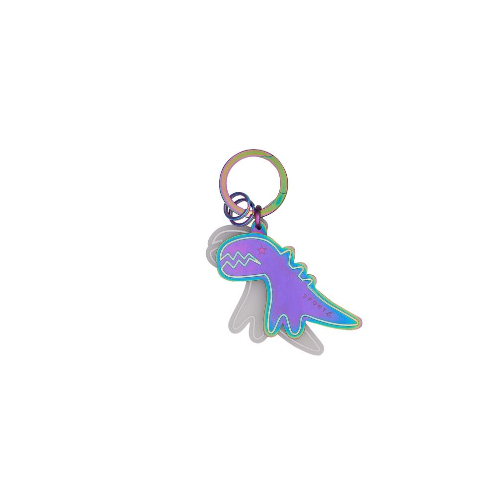 agnes b. - Sport b. 恐龍墜飾鑰匙圈(中性)(炫彩)