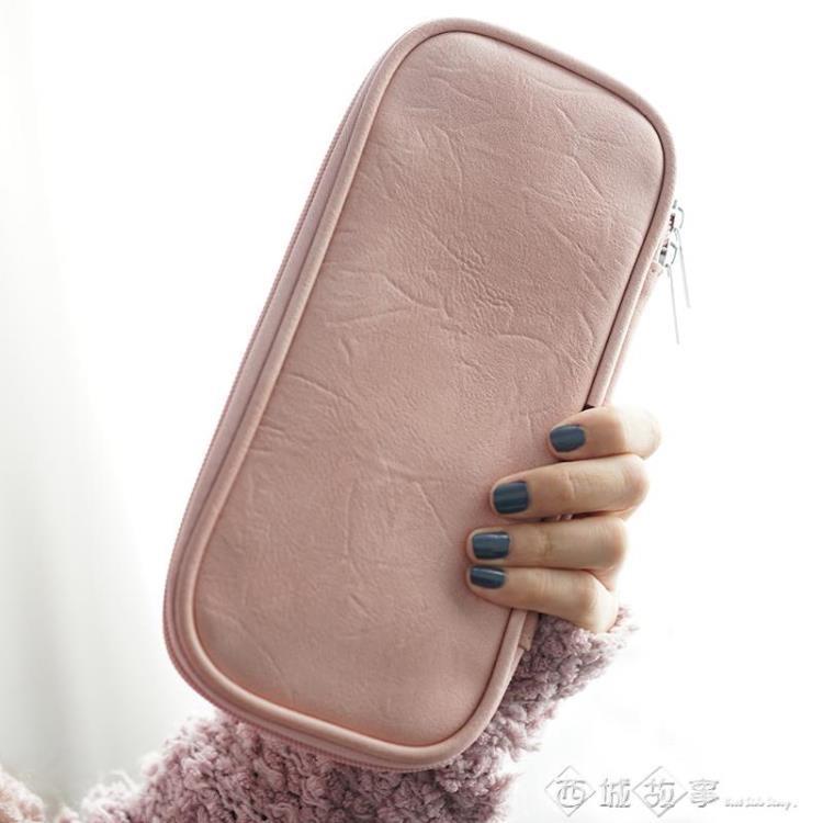 化妝包 化妝刷包收納包便攜外出專業彩妝刷子拉鏈化妝包刷具袋套刷空套包